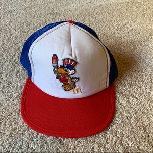 Vintage 1984 Los Angeles Olympics McDonalds Hat